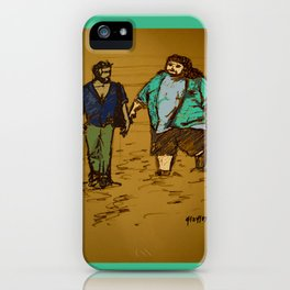out the hatch iPhone Case
