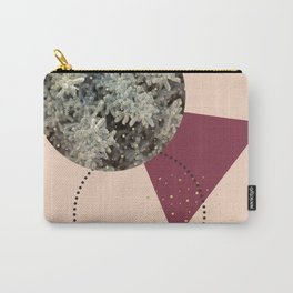 Golden Snow #society6 #decor #pink Carry-All Pouch