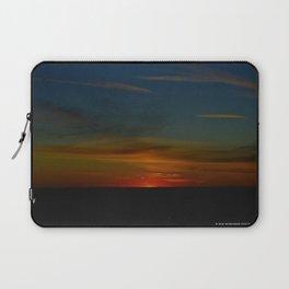Prairie Sunset #1 (Chicago Sunrise/Sunset Collection) Laptop Sleeve