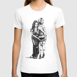 Festive Girlfriends. Yury Fadeev© T-shirt