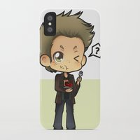 pie iPhone & iPod Cases featuring PIE by Lady Cibia
