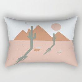 High Desert Shadows Rectangular Pillow