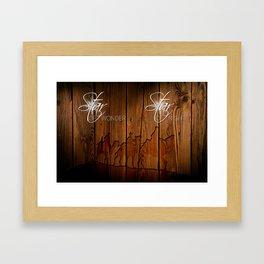 3 Kings on Wood Framed Art Print