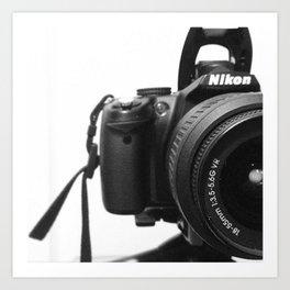 Nikon Art Print