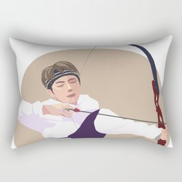 Jin archery Rectangular Pillow