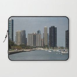 Chicago Shoreline, Skyline, Lake Michigan Laptop Sleeve