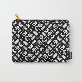 Control Your Game - White on Black Carry-All Pouch