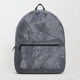 Grunge cracked marble Backpack