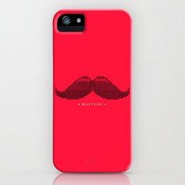 Mustascii iPhone Case