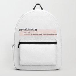 Procaffeinating Backpack