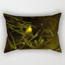 Hiding in the shadows but seen in the light Rectangular Pillow