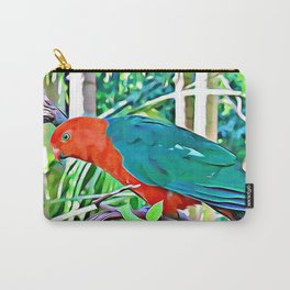 King Parrot Carry-All Pouch