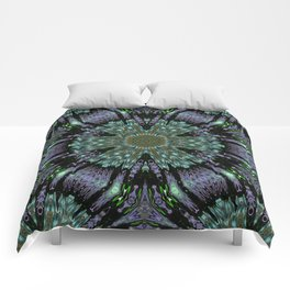 Unbelievable Mirror Mandala 2 Comforters