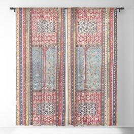 Reyhanli Southeast Anatolian Kilim Print Sheer Curtain