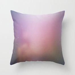 Fog and Light Throw Pillow