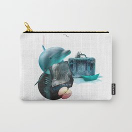 BREATHE (Totem of the Dolphin) Carry-All Pouch