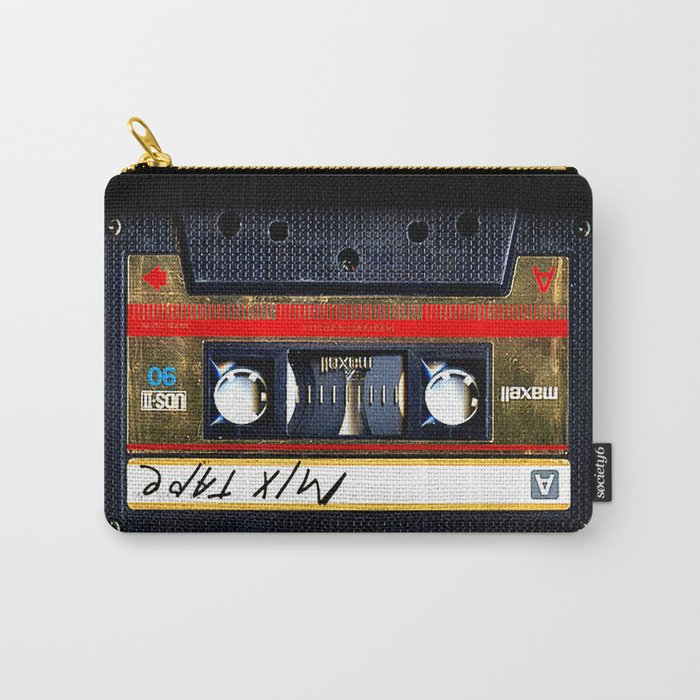 Retro cassette mix tape Carry-All Pouch