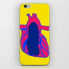 Vacant Heart iPhone & iPod Skin