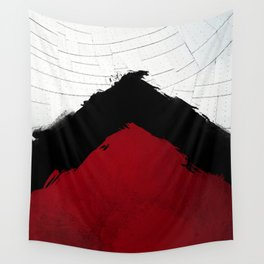 BLOOD RED RIBBON Wall Tapestry