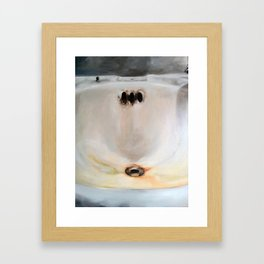 Corner sink 4 Framed Art Print