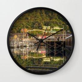 Kodiak, Alaska St. Paul Harbor Wall Clock