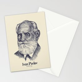 The Biologist, Ivan Pavlov Stationery Cards