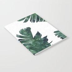 Banana Leaf Watercolor Pattern #society6 Notebook