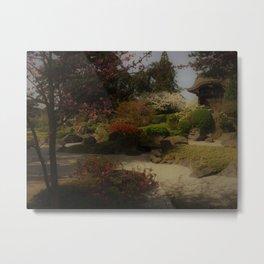 J-garden Metal Print