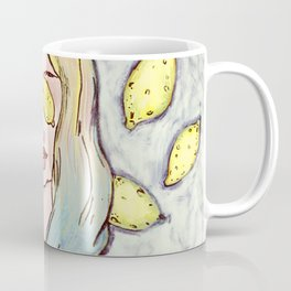 Lemon Eyes Coffee Mug