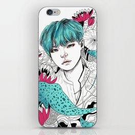 BTS Suga iPhone Skin