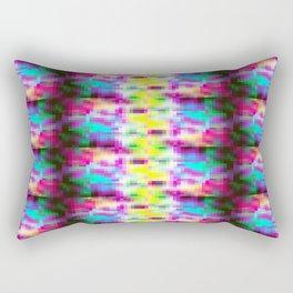 colorful Pixels Rectangular Pillow