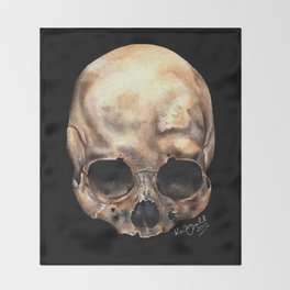 Alas, Poor Yorick! Throw Blanket