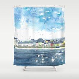 Long Walk, Galway Shower Curtain
