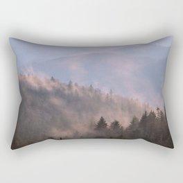 Clearing Storm at Dusk, Blue Ridge Parkway, NC Rectangular Pillow