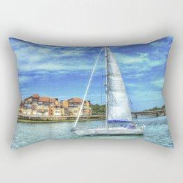 Capbreton boat Rectangular Pillow