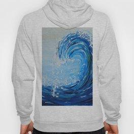 blue wave Hoody