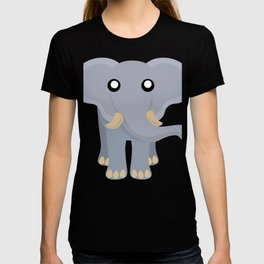Cute Elephant Cartoon T-shirt