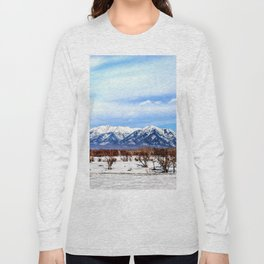 Sayan Mountains Long Sleeve T-shirt