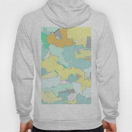 yellows and blues Hoody