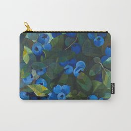 A Blueberry View Carry-All Pouch