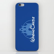 Wrong Castle iPhone & iPod Skin