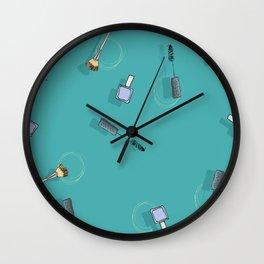 Cosmetic Urgency Wall Clock