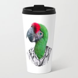 Caribbean Parrot Travel Mug