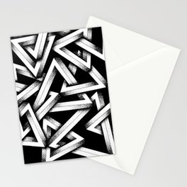 Impossible Penrose Triangles Stationery Cards