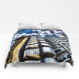 The Lloyd's and Willis Group Buildings Comforters