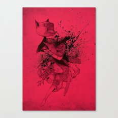 CATFIGHT! Canvas Print
