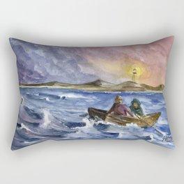 Storm Chased Rectangular Pillow