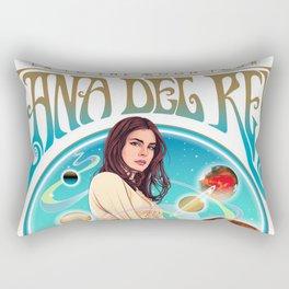 lana del ray la to the moon 2021 Rectangular Pillow