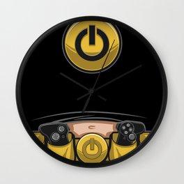 Geek Utility Belt with Belly Wall Clock