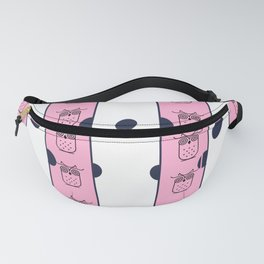 Pink Owl Fanny Pack